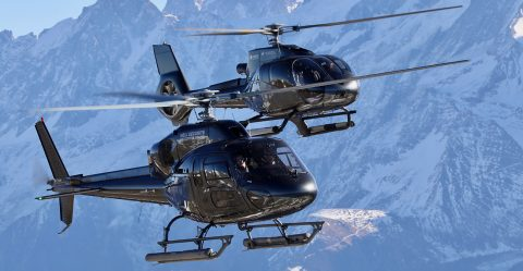 Panoramic Flights in Courchevel