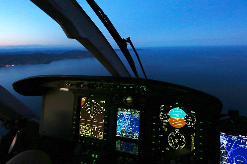 Qualification Vol de Nuit en Hélicoptère