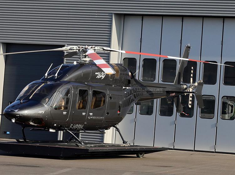 Hangar de maintenance Rotor Team