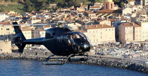 Vol panoramique Saint-Tropez