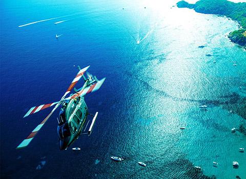 Réservation d'hélicoptère au départ de Nice