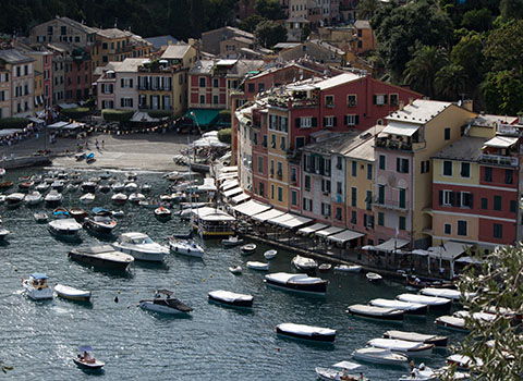 Helicopter transfers in Portofino