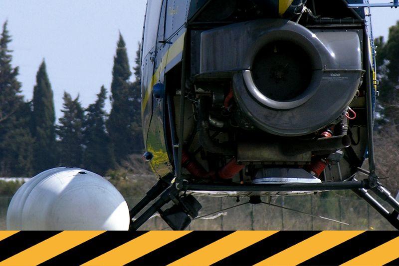 Formation à la sécurité sur Robinson R22