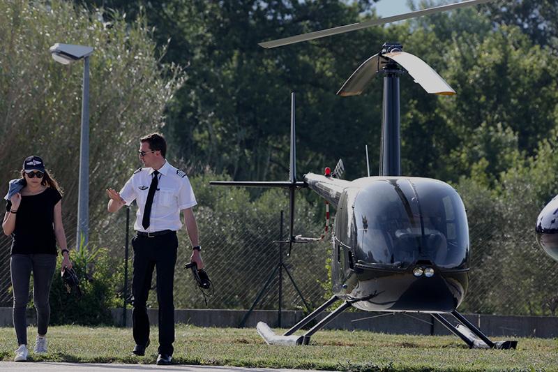 Formation au pilotage d'hélicoptère