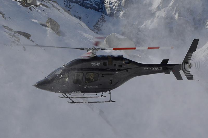 Formations au pilotage d'hélicoptère en montagne avec Héli Sécurité