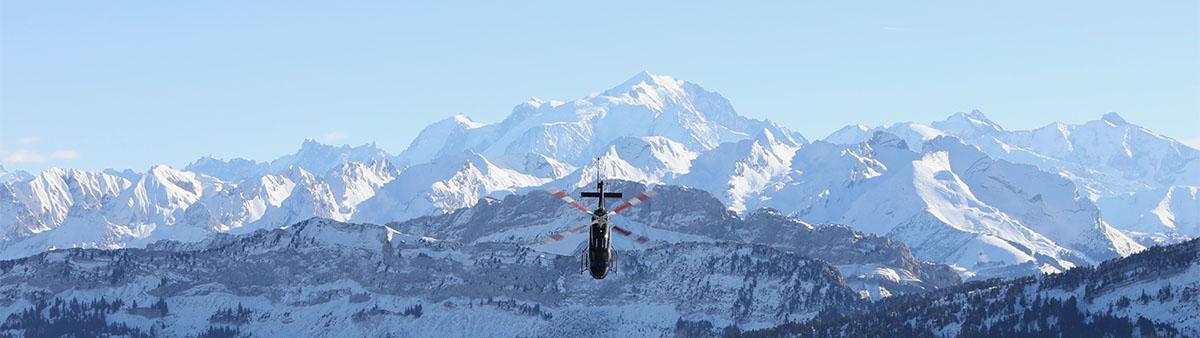 Nos vols panoramiques en hélicoptère au départ de Courchevel