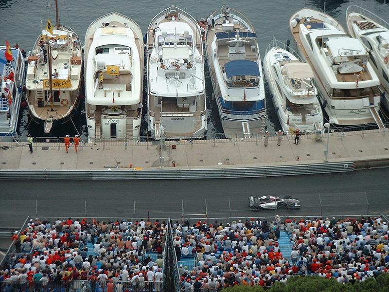 Le Grand Prix de Formule 1 à Monaco