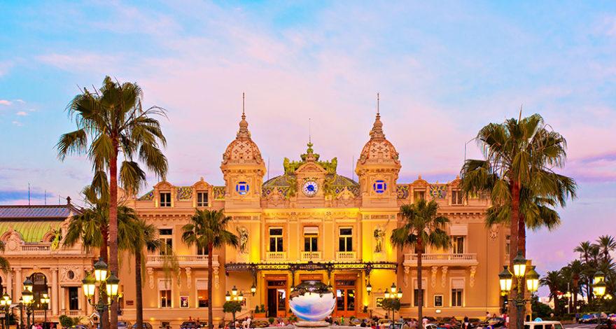 Le Casino de Monaco pendant le Grand Prix de Formule 1