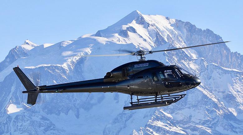 Hélicoptère Airbus AS-355 Bi-Turbine