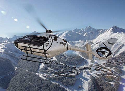 Courchevel Helicopter