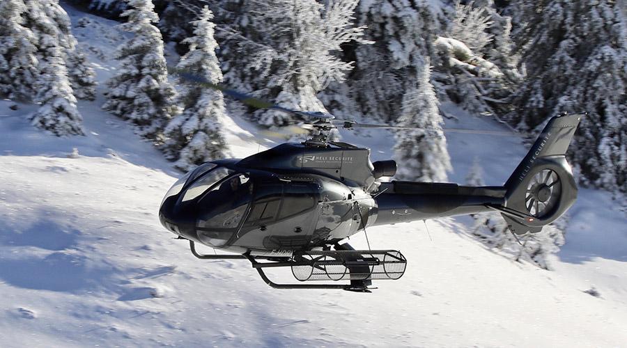 Hélicoptere H-130 de la marque Airbus