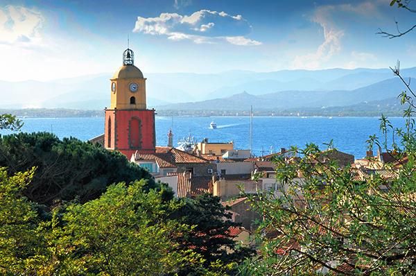 Saint-Tropez vu du ciel