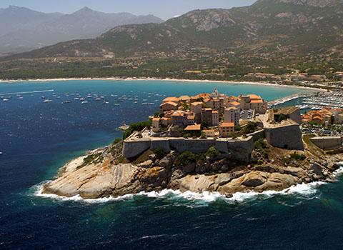 City of Calvi, Corsica