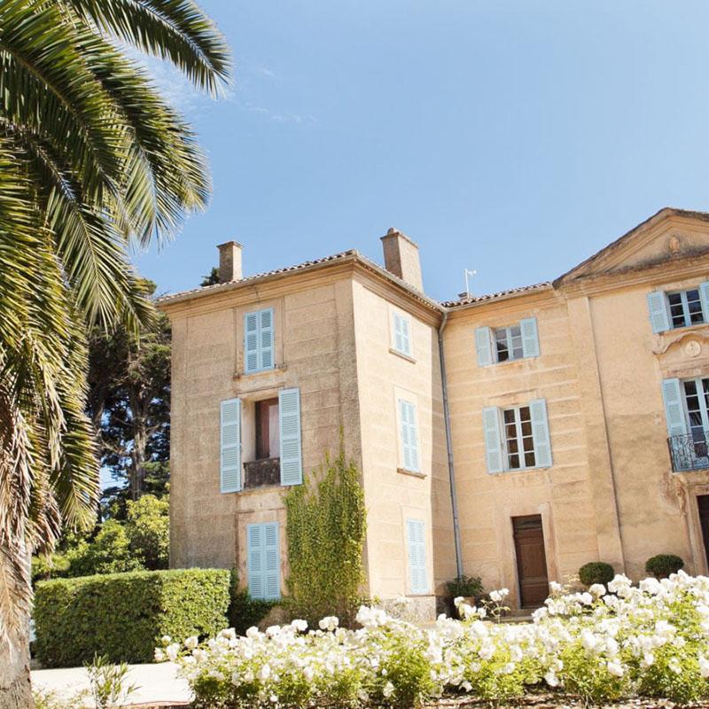 Château de Pampelonne à Ramatuelle