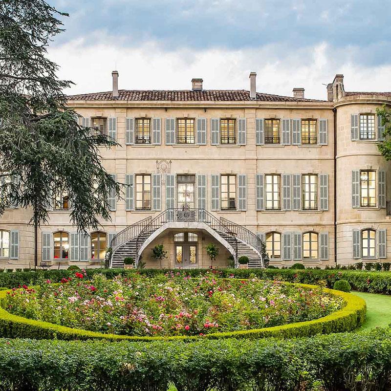 Château d'Estoublon aux Baux-de-Provence