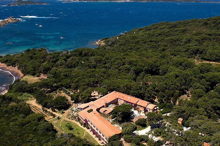 Vue panoramique de l'île de Porquerolles